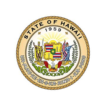Seal of the State of Hawaii by fourretout