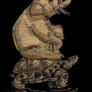 Elephant turtle by GeschenkIdee