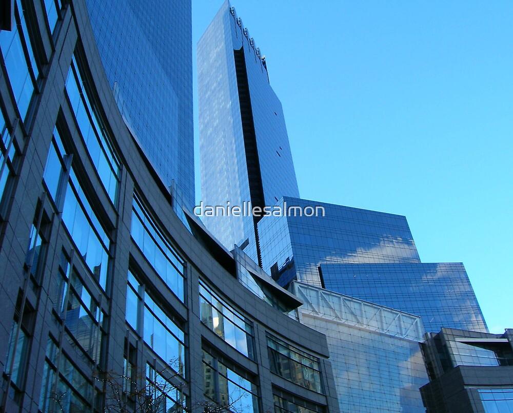 Blue Sky NY by daniellesalmon