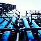 Pompidou Centre by Wayne Gerard Trotman