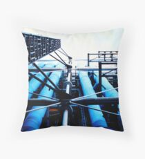 Pompidou Centre Throw Pillow