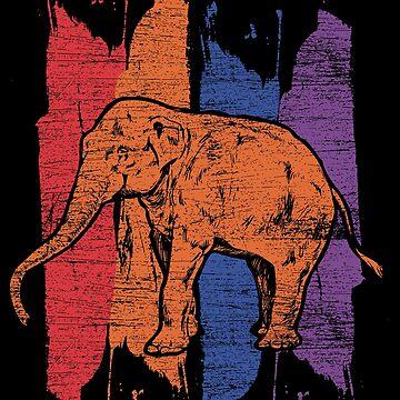 Elephant herd by GeschenkIdee