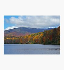 Autumn at the Lake Photographic Print