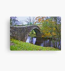 Packhorse Bridge Canvas Print