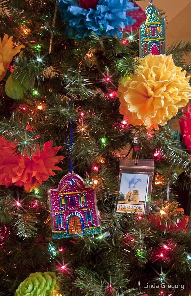 Tumacacori Christmas Tree by Linda Gregory