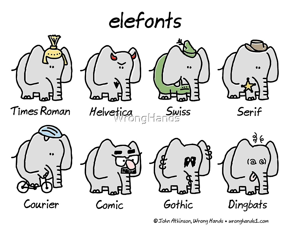elefonts by WrongHands