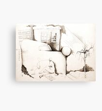 Immigrating to Europe Canvas Print