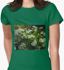 Flowering Shrub Womens Fitted T-Shirt