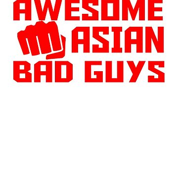 Awesome Asian bad guys by Faba188