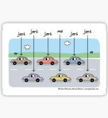 designating drivers Sticker