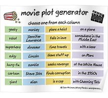 'movie plot generator' Throw Pillow by WrongHands