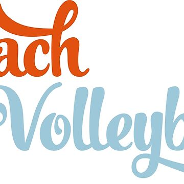 Beach volleyball by Vectorqueen
