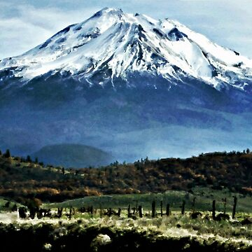 The Countryside Of Mt. Shasta by CJAnderson