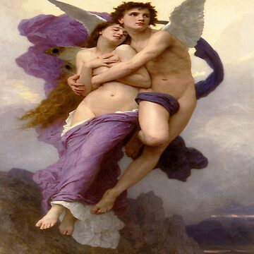 The Abduction of Psyche-William Adolphe Bouguereau by LexBauer