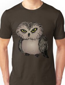 Cranky owl Unisex T-Shirt