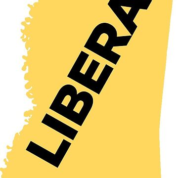 Liberal Mississippi - yellow by wokesouth