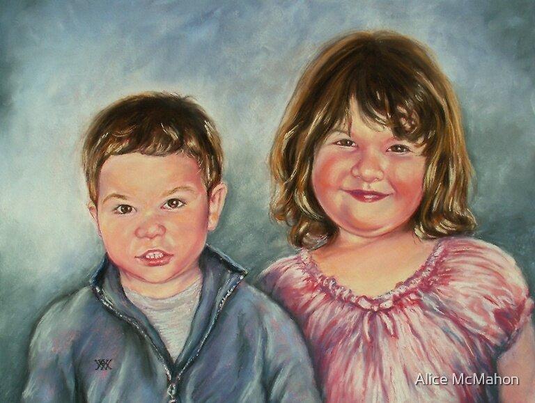 Terra and Egan by Alice McMahon