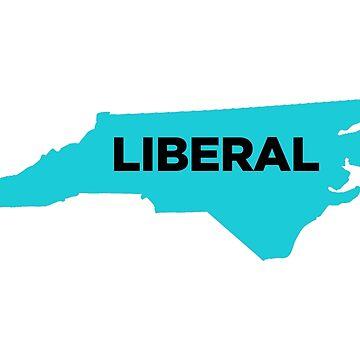 Liberal North Carolina - blue by wokesouth