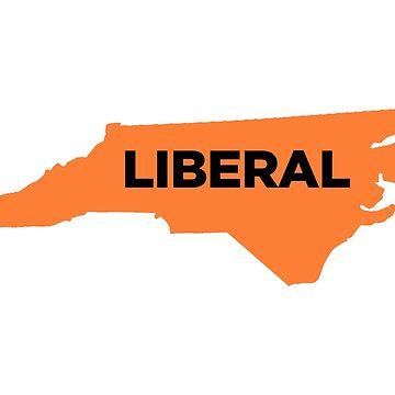 Liberal North Carolina - orange by wokesouth