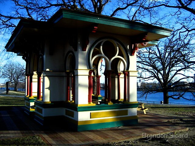 The Shaded Pavilion by Brandon Sicard