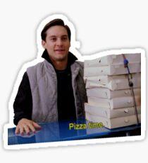 Pizza Time. Sticker