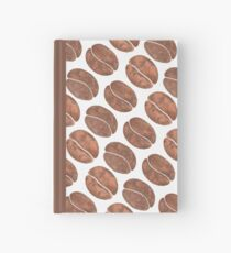 Coffee Beans Hardcover Journal