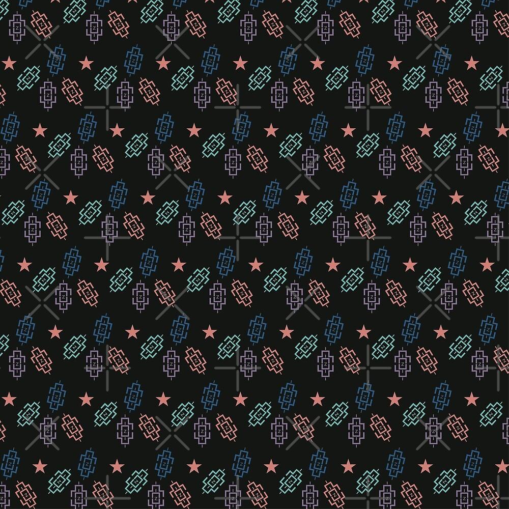 seamless pattern design pillows colorful wallpaper vector seamless
