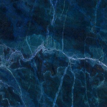 Dark blue marble by helgema