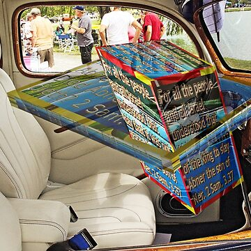Car interior with 3D text boxes by KFRose