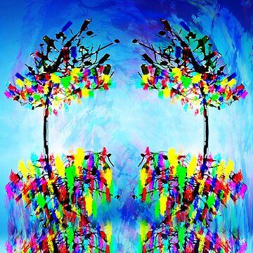 BOTTLE TREES by FieryFinn77