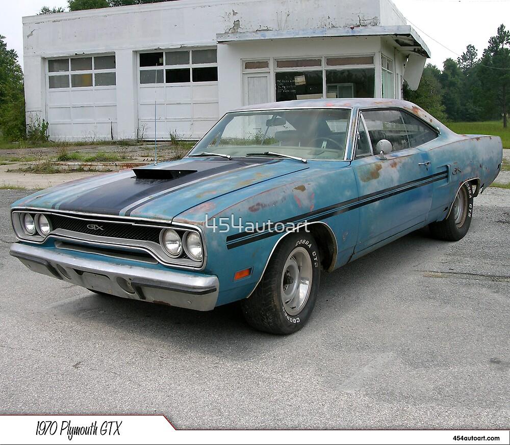 "1970 Plymouth GTX ""Barn Find"" by 454autoart"