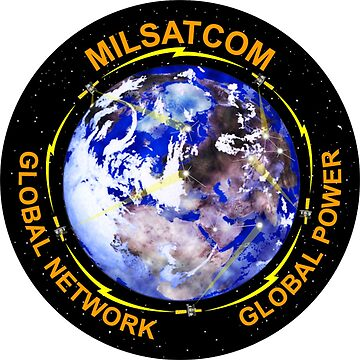 Military Satellite Communications Systems Directorate Logo by Spacestuffplus