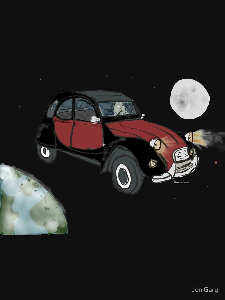 Citroên in Space by jongary