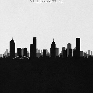 Travel Posters | Destination: Melbourne by geekmywall