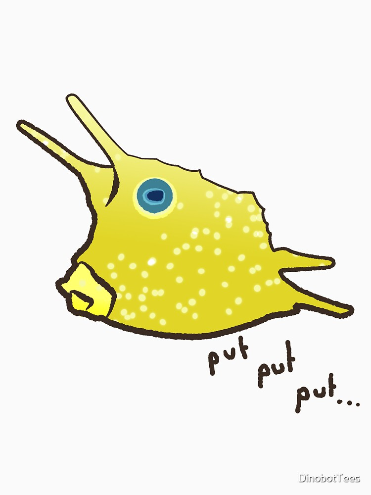 Long Horn Cow Fish by DinobotTees