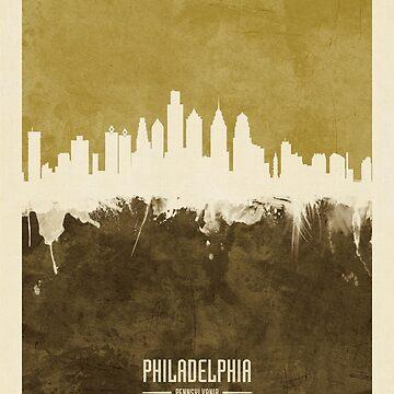 Philadelphia Pennsylvania Skyline by ArtPrints