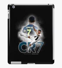 Vinilo o funda para iPad Cristiano Ronado 'CR7' Juventus Ilustración Diseño