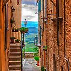 Tuscan Alley by Viv Thompson