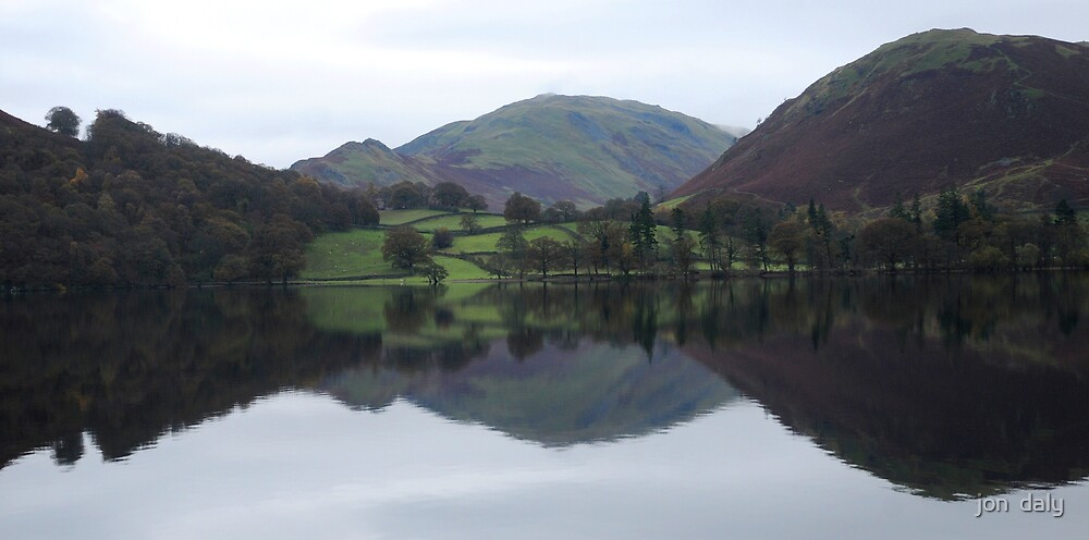 ullswater reflected by jon  daly