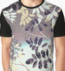 Interleaf - grey Grafik T-Shirt