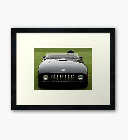 1955 Kurtis 500KK Sutton Roadster MKK58 Framed Print