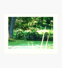 Olden Days Art Print