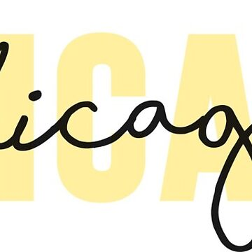 Chicago- Amarillo de emilystp23