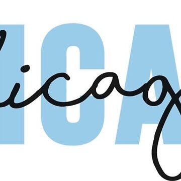 Chicago - Azul de emilystp23
