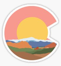 Garden of the Gods Colorado Design Sticker
