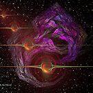 Fractals In Space by DeanzWorld