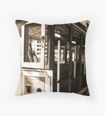 Powell-Hyde Number 22 Throw Pillow
