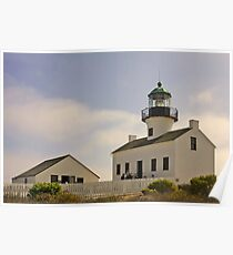 Old Point Loma Lighthouse San Diego, California Poster