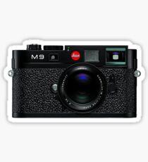 Leica M9 Black front Sticker