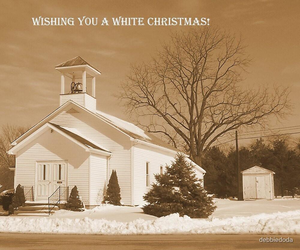 White Christmas by debbiedoda